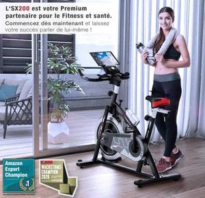 Avis Vélo d'appartement Sportstech SX200
