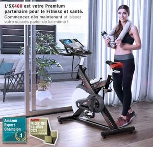 Avis Vélo d'appartement multijoueur Sportstech SX400