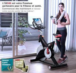 Avis Vélo d'appartement silencieux Sportstech SX500