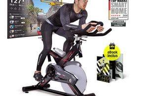 Test Vélo d'appartement multijoueur Sportstech SX400